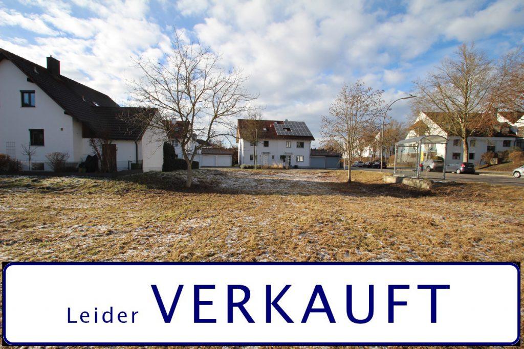 Baugrundstück mit 438 m² im gefragten Stadtteil Landshut West.