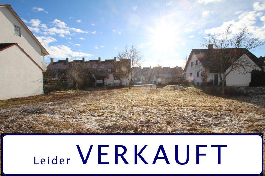 Baugrundstück mit 859 m² im gefragten Stadtteil Landshut West.