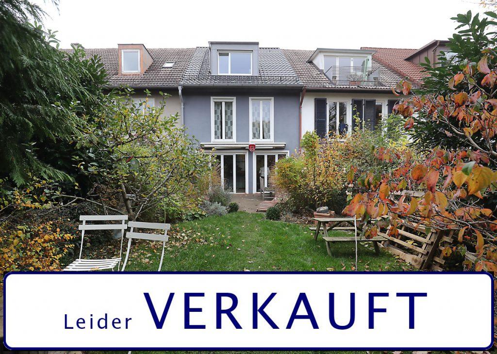 Familienoase in Nymphenburg! Kernsaniertes Reihenmittelhaus auf höchstem Niveau.