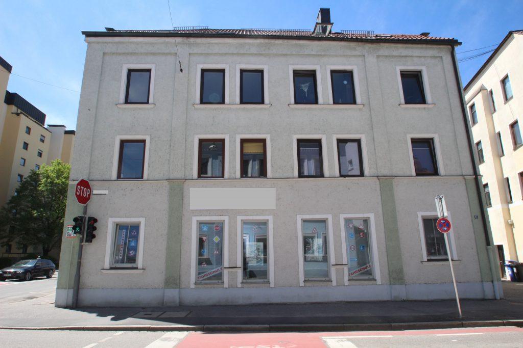 Wohn- und Geschäftshaus mit 8 Einheiten in sehr guter Landshuter Stadtlage